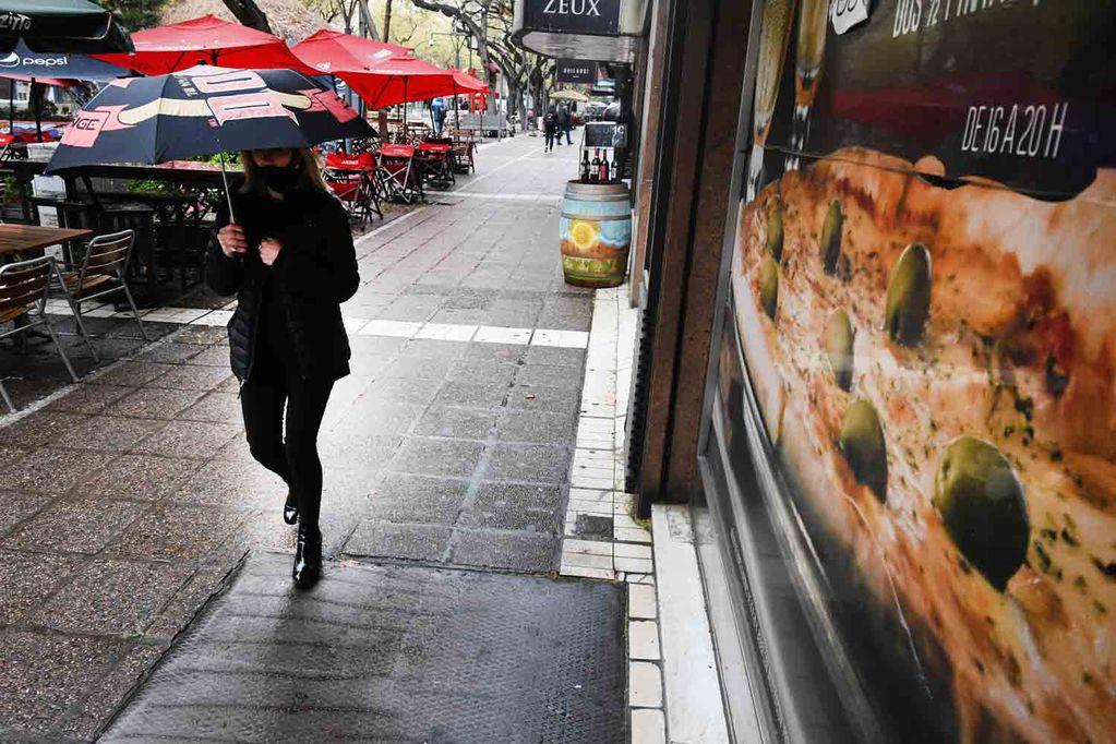 El jueves desciende la temperatura en Mendoza y se esperan lluvias. - Los Andes