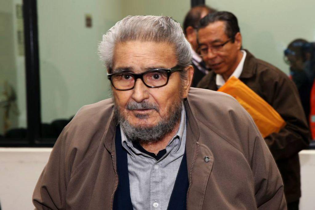 Abimael Guzmán, ex guerrillero peruano.