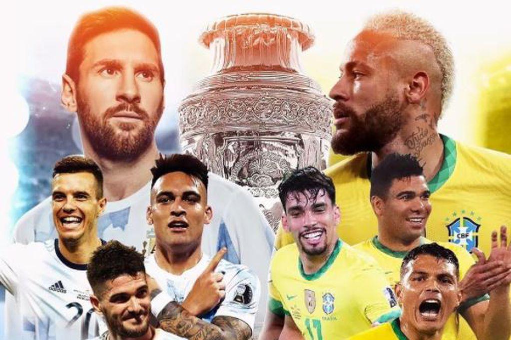 Si la final entre Brasil vs. Argentina termina en empate, ¿cómo se define?