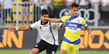 Dybala fue otra vez el capitán de Juventus