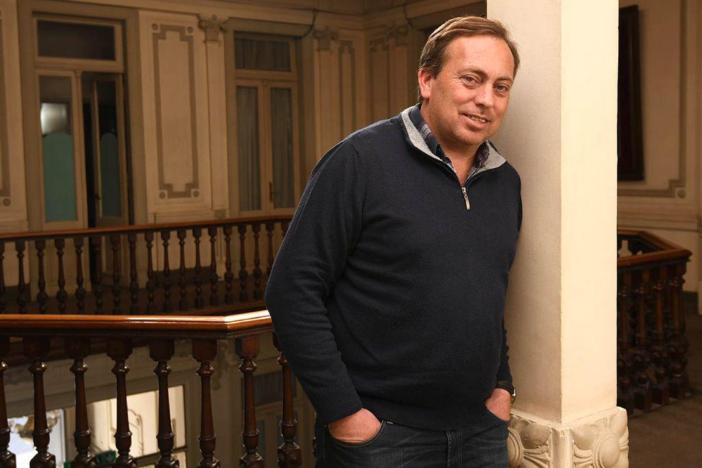 """Martín Aveiro: """"Estuve a punto de  no presentarme como candidato a intendente"""""""