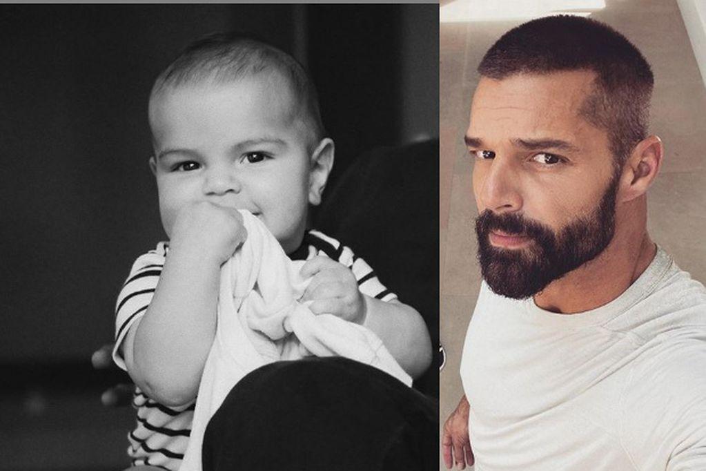 Ricky Martin publicó dulces fotos de su cuarto hijo Renn Martin-Yosef
