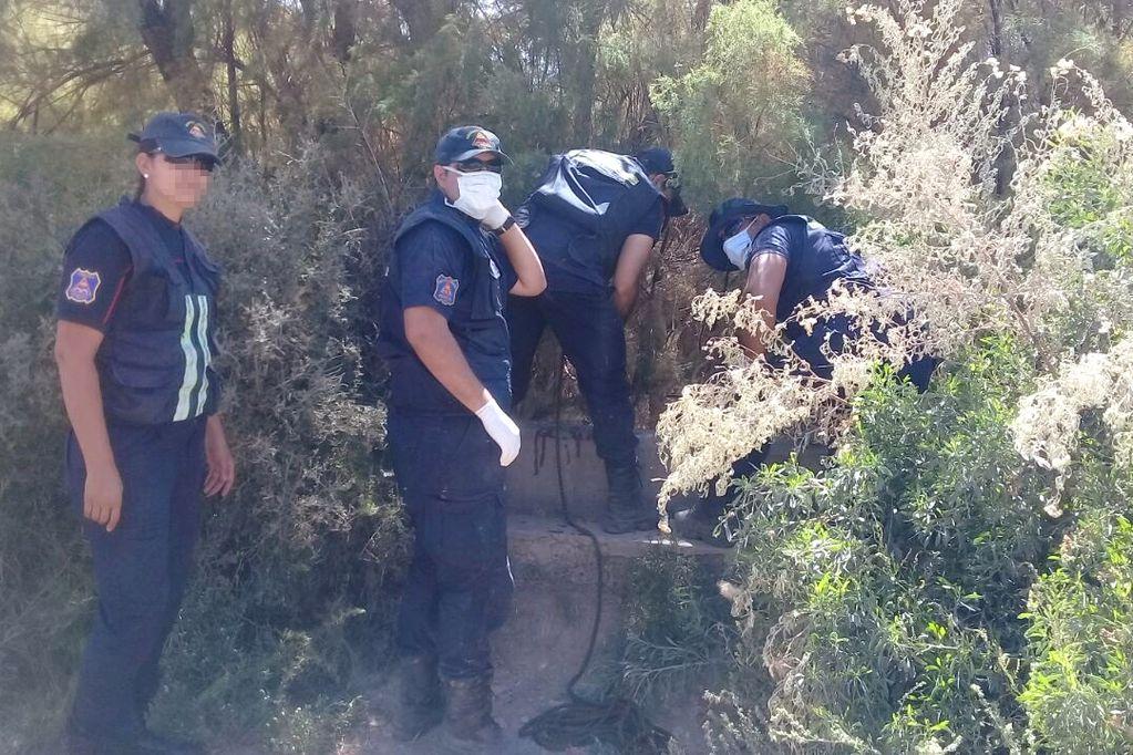 El cuerpo hallado en El Challao es de un hombre que había desaparecido hace tres meses