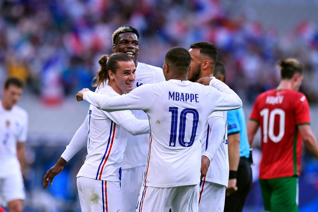 España, con juveniles y con casos de Covid-19, y Francia golearon en sus amistosos previos a la Eurocopa