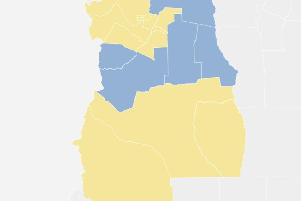 Mapa electoral Mendoza: mirá los resultados de las elecciones PASO 2021