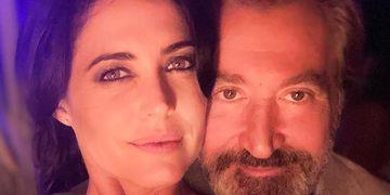 Juntos. Pamela David y Daniel Vila, dueño del canal América (Captura de Instagram).