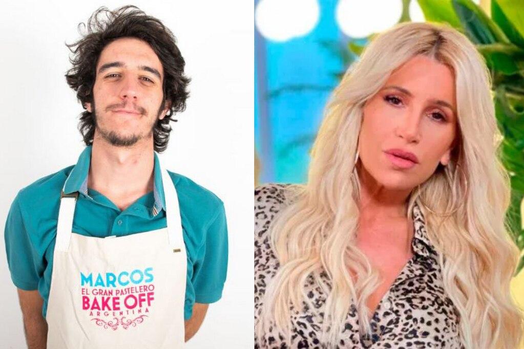 """Marcos Perren, de """"Bake Off"""" apuntó contra el ciclo de Florencia Peña."""