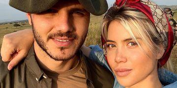 Mauro Icardi sigue demostrándole su amor a Wanda Nara ¿y ella? Como si nada