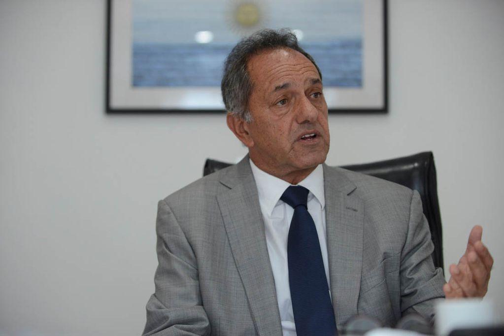 Daniel Scioli, embajador de la Argentina en Brasil, le respondió al ministro de Economía de Jair Bolsonaro tras las acusaciones por el Mercosur. - Gentileza / Clarín