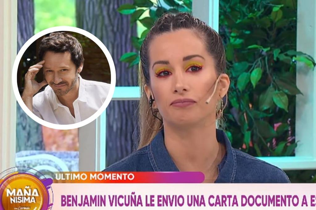 La reacción de Benjamín vicuña contra Estefanía Berardi.