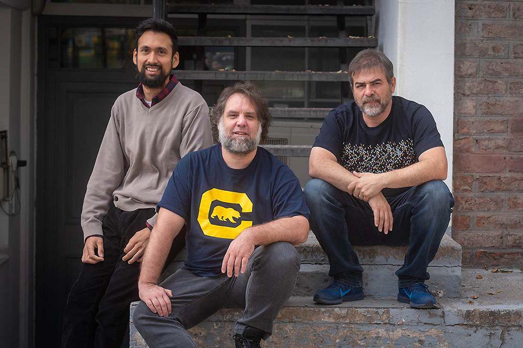 Los fundadores de Lindo Software: Lucas Villarreal, Ariel Sáenz y Diego Marín, crearon el canal de ventas online de una de las cadenas más importantes de Argentina.