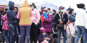 Crisis migratoria en Colchane, Chile.