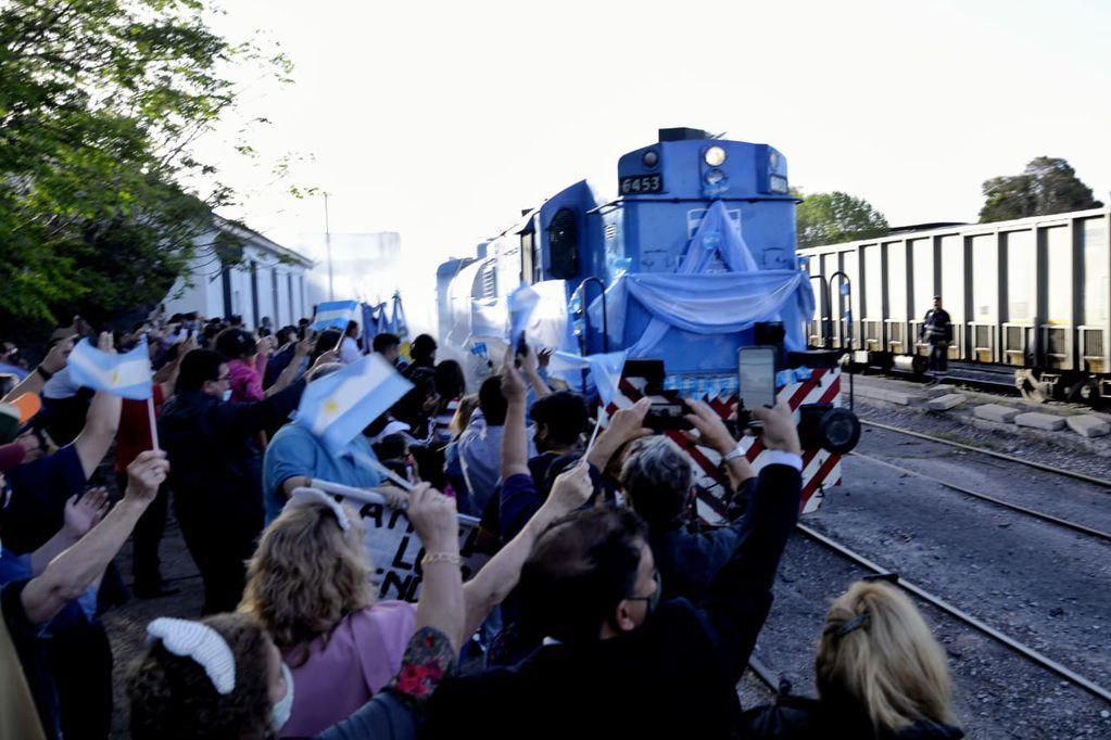 Tren Sanitario en Mendoza. Gentileza Frente de Todos