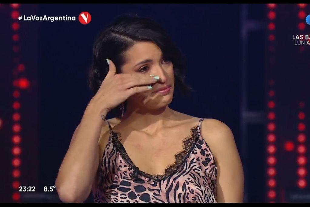 Bianca Cherutti en La Voz Argentina.