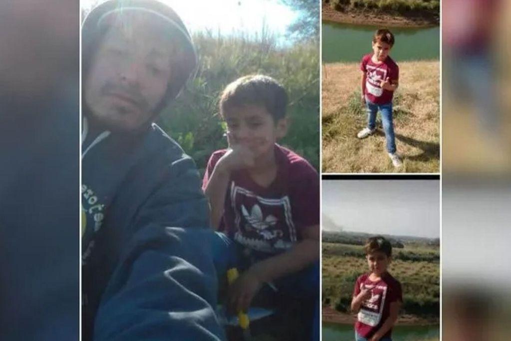 La tragedia de un nene y su padrastro: salieron a pescar y los hallaron muertos en una tosquera