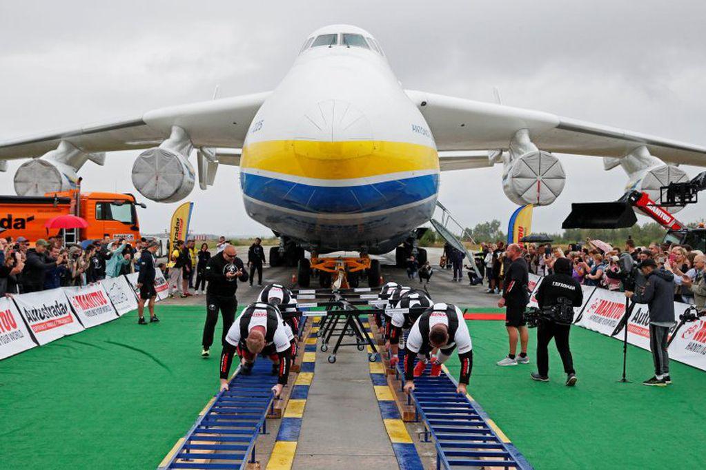 Estos ucranianos, con esta proeza, rompieron un récord Guinness mundial.