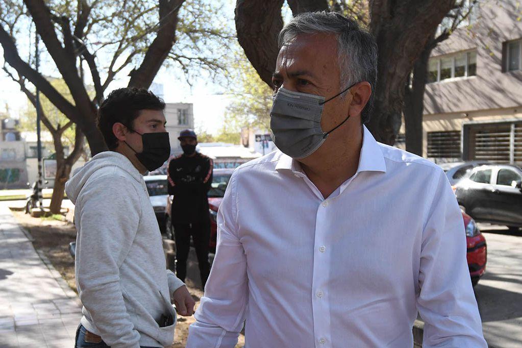 Alfredo Cornejo, durísimo otra vez con el presidente Alberto Fernández.