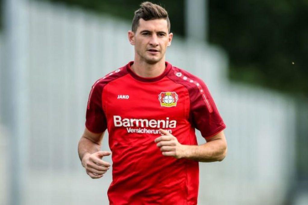 Bayer Leverkusen, único futuro por ahora de Lucas Alario.