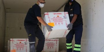 Mendoza recibió 5000 segundas dosis de la vacuna rusa Sputnik V contra el coronavirus