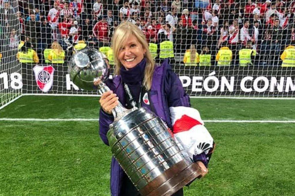La especialista en neurociencia Sandra Rossi es parte del cuerpo médico de River Plate. / archivo
