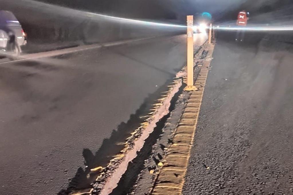 Desde que se produjo el sismo, el Inpres registró más de 50 réplicas. Foto Gendarmería.