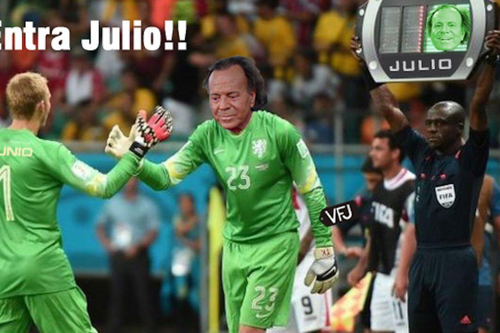Con Julio Iglesias como protagonista, arranca el mes del año que despierta más memes que el resto.