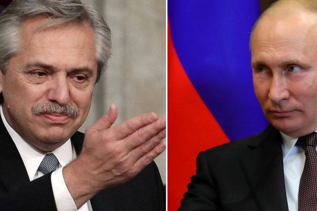 Alberto Fernández felicitó a Vladimir Putin por la obtención de la primera vacuna contra el coronavirus