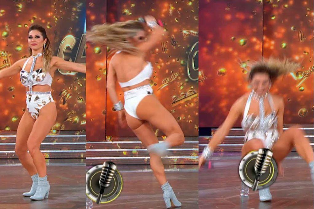 Caída en la pista del Cantando y memes: Adabel Guerrero fue tendencia en las redes