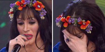 Fátima Florez se puso en la piel de Gilda en Showmatch.