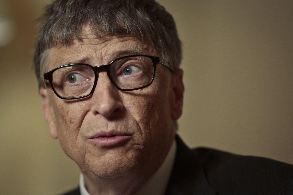 Bill Gates, reconocido empresario por haber creado y fundado Microsoft junto con Paul Allen.
