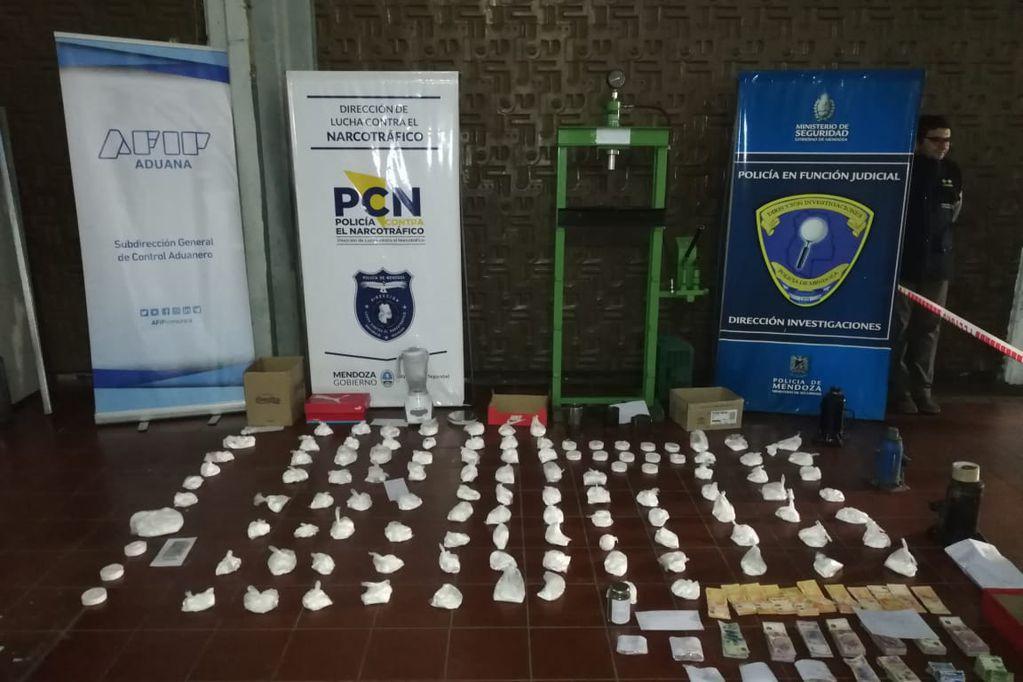 Nueva causa narco contra los Aguilera: 8 millones de pesos incautados