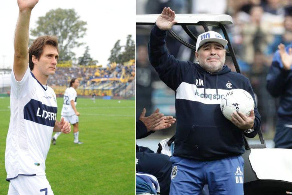 """De Guillermo Barros Schelotto para Maradona: """"Yo te idolatré, hoy te idolatran mis hijos"""""""