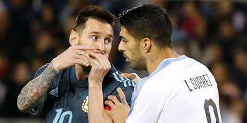 Copa América, Argentina vs Uruguay