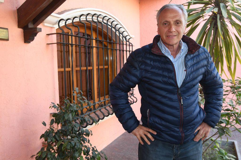 """Raúl Rufeil, la sorpresa que """"resucitó"""" a la UCR en San Martín"""