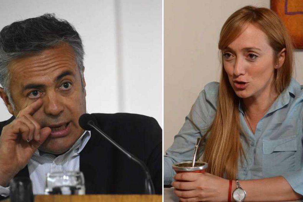 Alfredo Cornejo y Anabel Fernández Sagasti son rivales directos en la contienda electoral.
