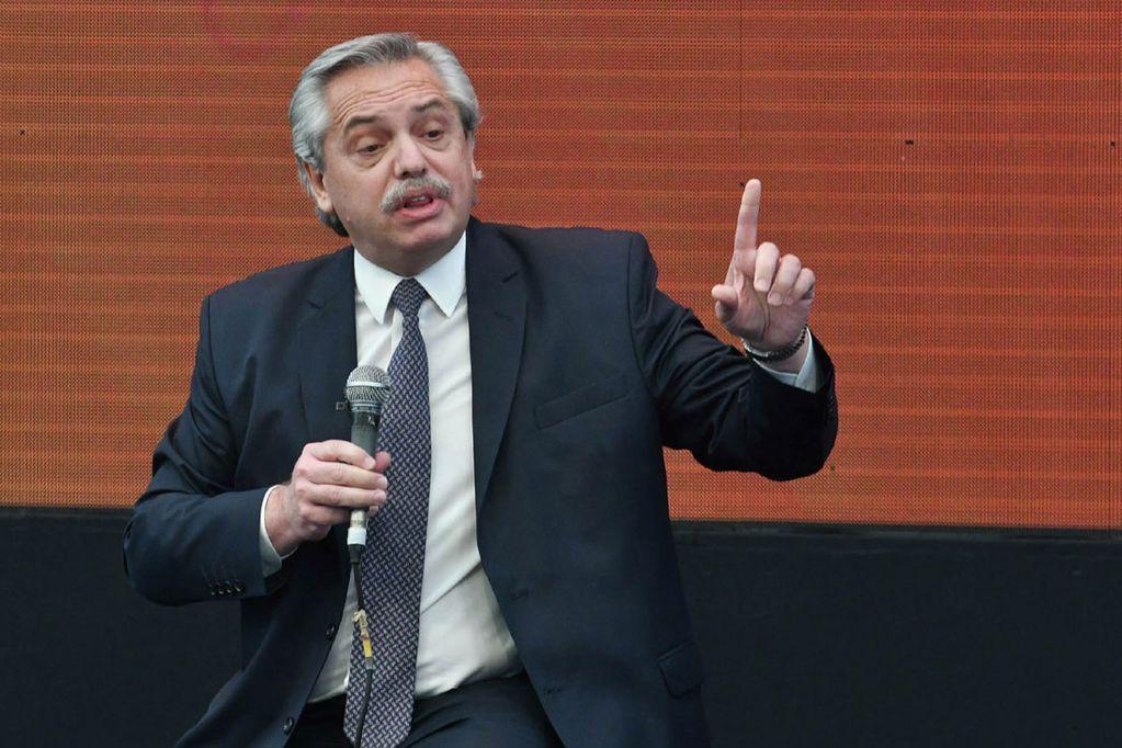 Alberto Fernández. (Télam/Archivo)
