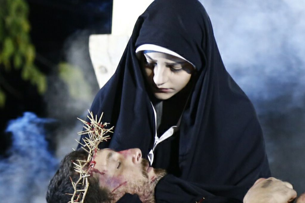 Vía Crucis viviente: una tradición en Alvear que se mantiene desde 1986