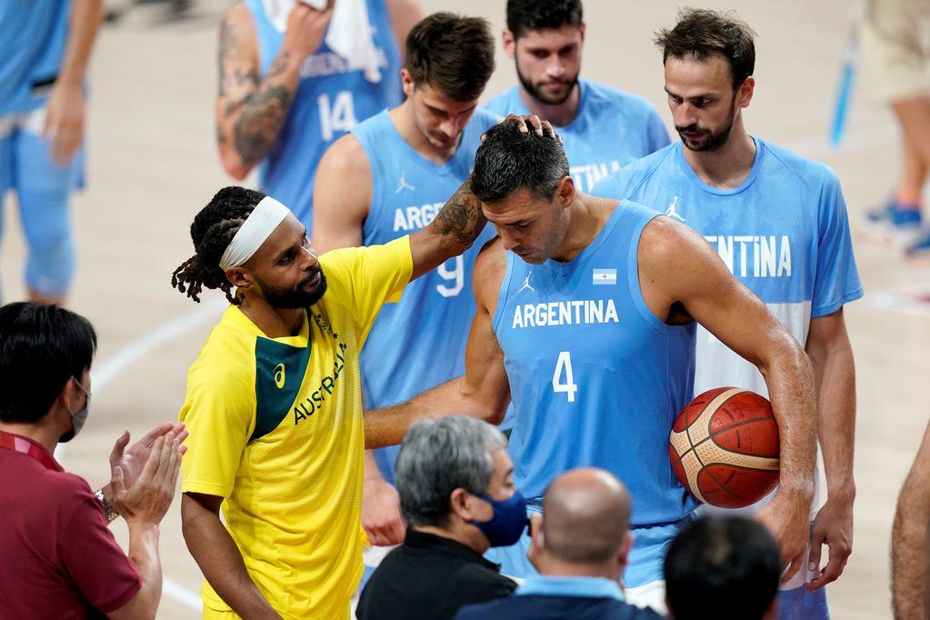 Básquet: Argentina sufrió una dolorosa derrota ante Australia y se despidió de los Juegos Olímpicos