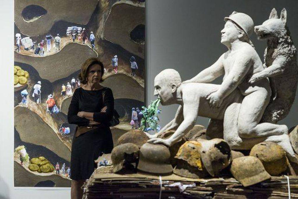 Cancelan una exposición de arte por considerarla ofensiva para el rey Juan Carlos