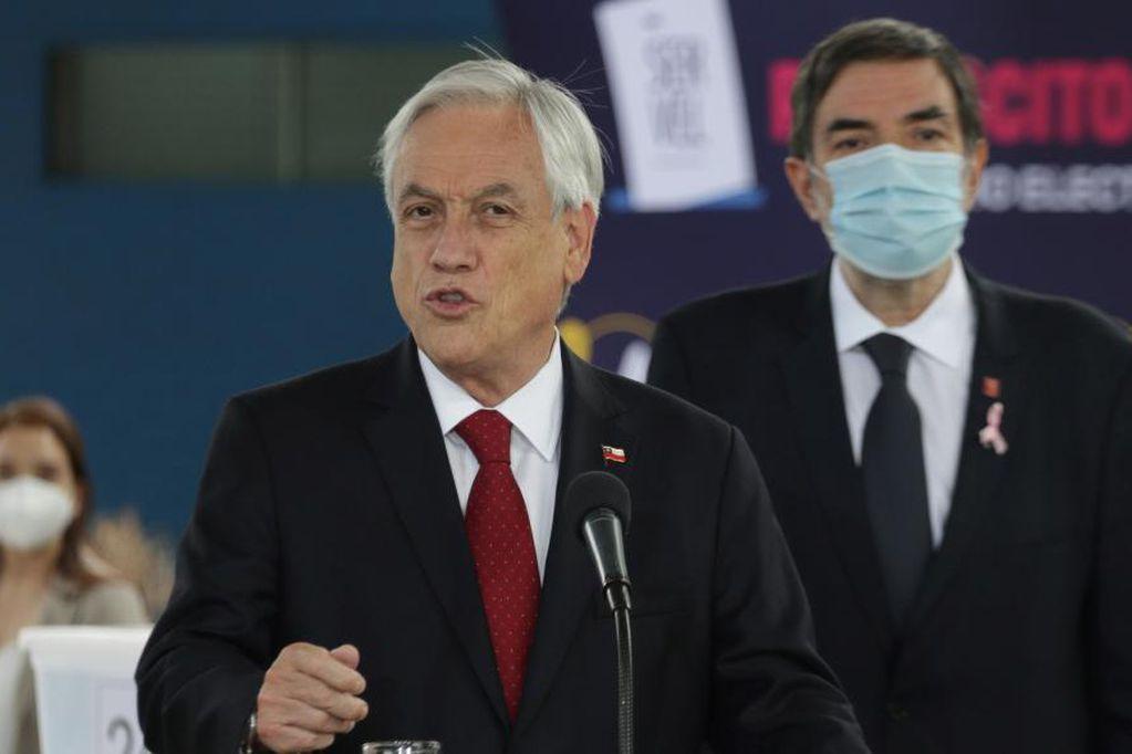 Sebastián Piñera, presidente de Chile (AP).