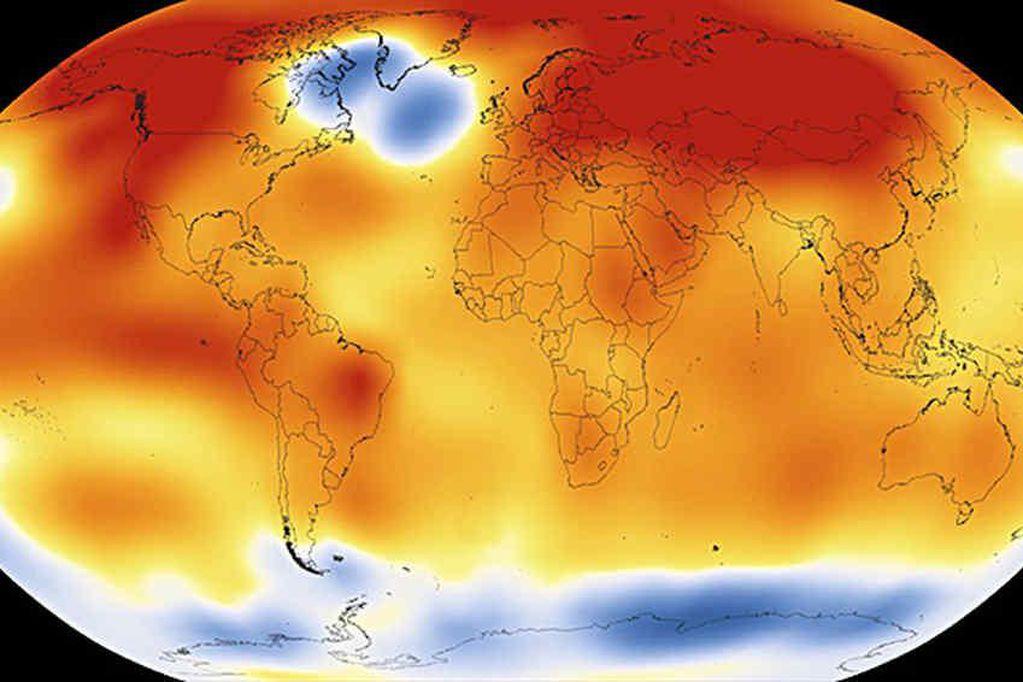 El Calentamiento global avanza más rápido de lo previsto en informes del 2018. Archivo