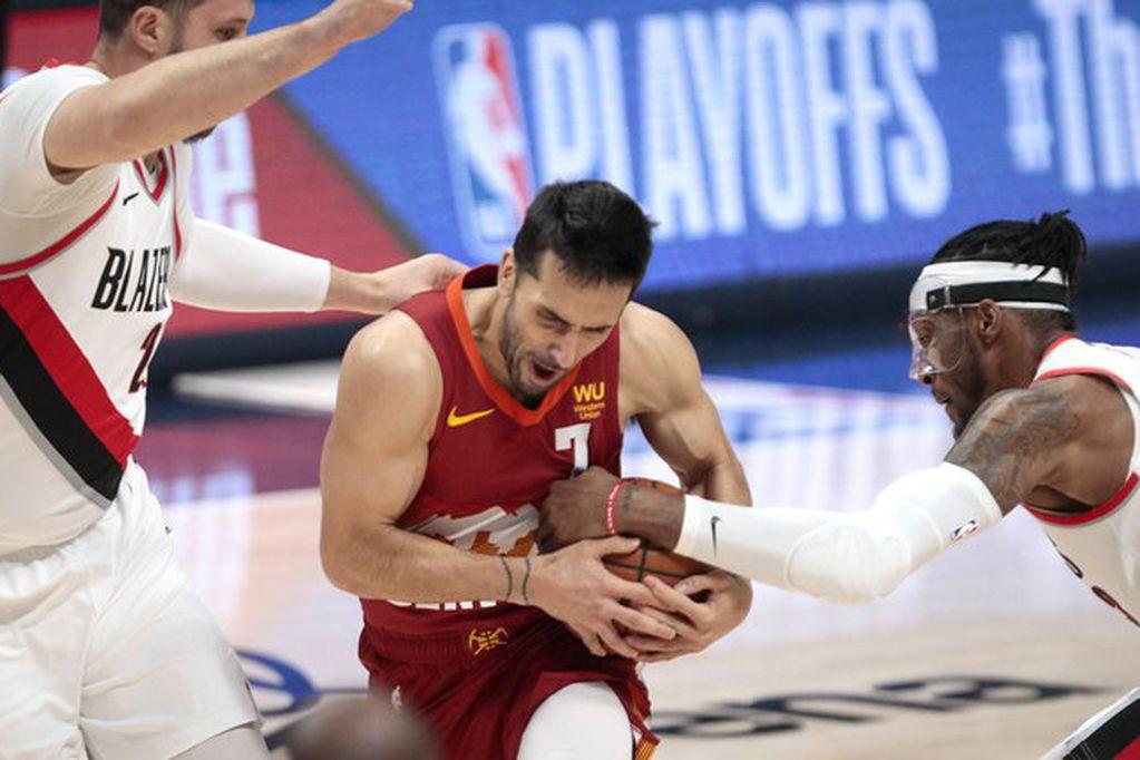 NBA: los Nuggets vencieron a Portland con algunas perlitas del argentino Facundo Campazzo