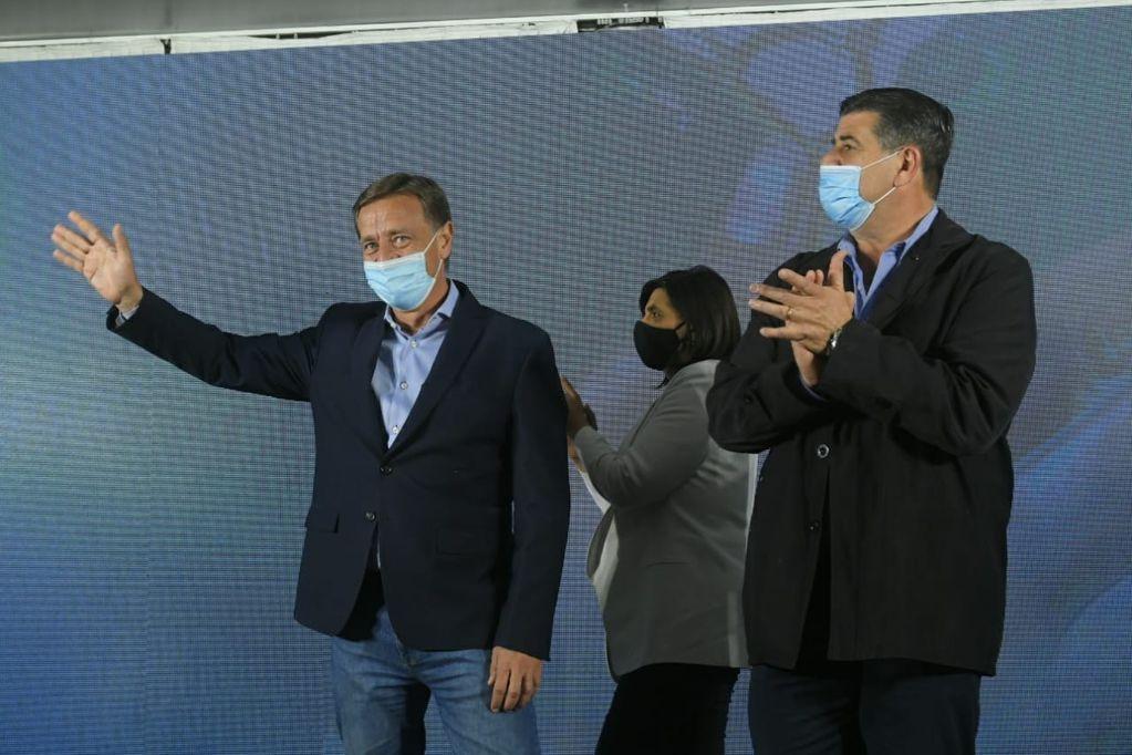 """Rodolfo Suárez celebró el """"contundente triunfo"""" de Cambia Mendoza con el 43% de los votos en toda la provincia"""