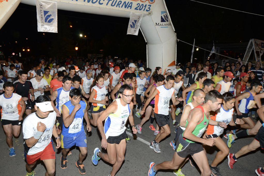 El 27 de noviembre se correrá la maratón nocturna. Podés inscribirte hasta el 1/11.
