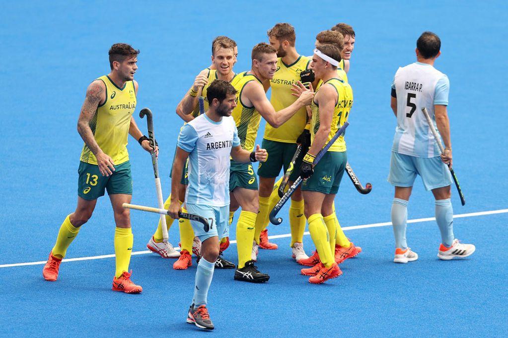 Dura derrota de Los Leones ante Australia en su tercera presentación