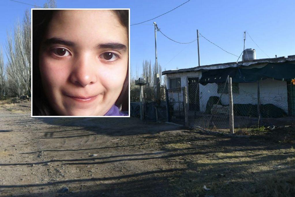 Lucía Inés Fernández, la chica de 15 años asesinada en Maipú. Había salido de su casa (foto) a la escuela, pero nunca regresó. (Orlando Pelichotti / Los Andes)