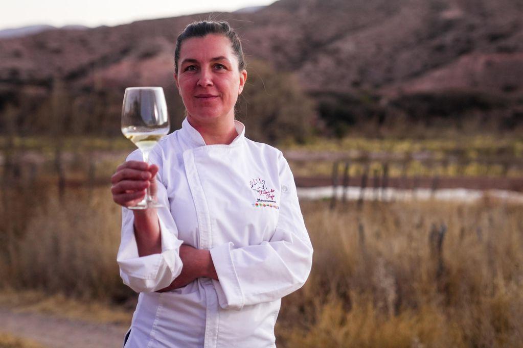 María Florencia Rodríguez, chef argentina.