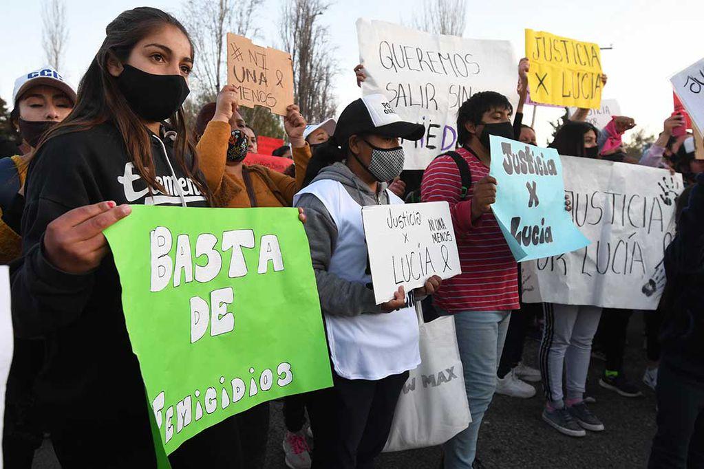 Hace una semana, se realizó una marcha para pedir justicia por el femicidio de Lucía Fernández (15).