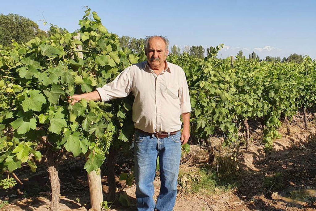 """Mario Leiva: """"trabajar en el campo hoy es casi una misión imposible""""."""