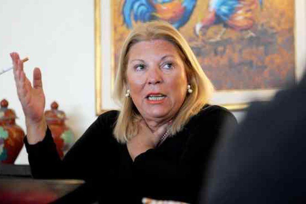 ELISA CARRIÓ. (Archivo).